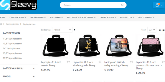 laptoptas dames
