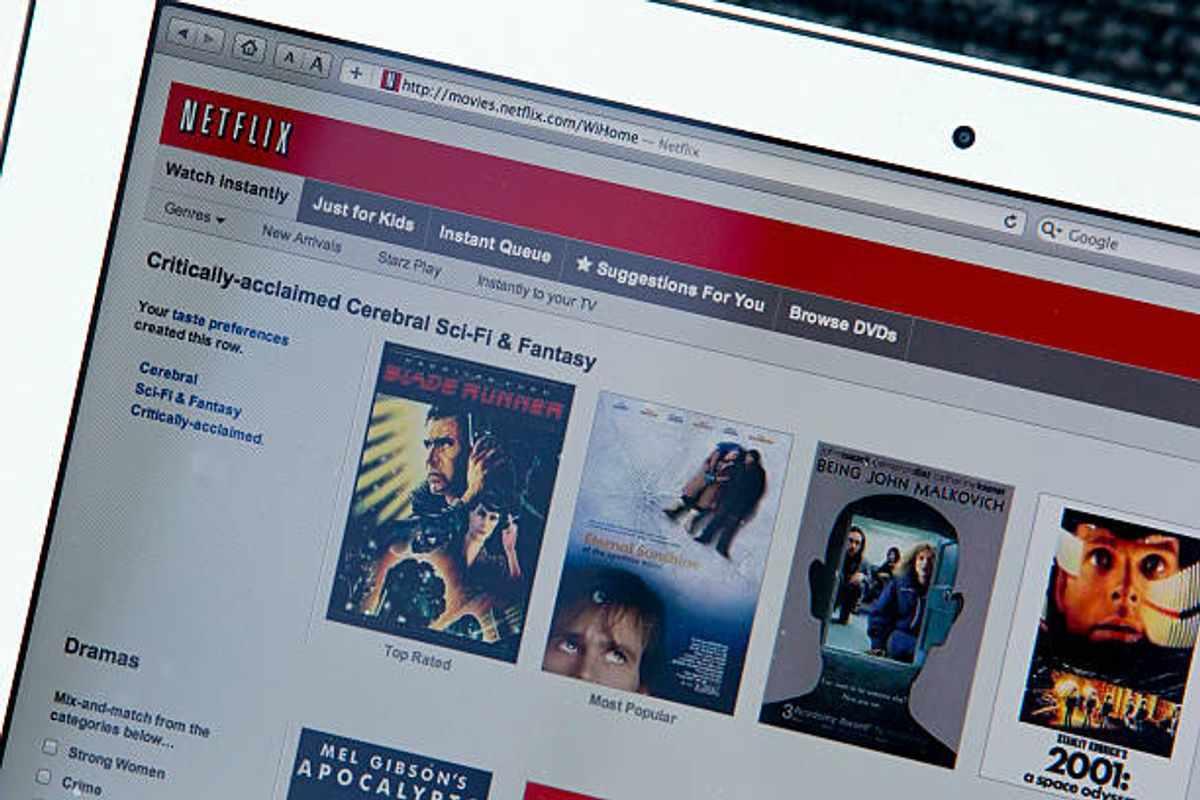 Online Movie Rental Reviews